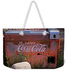 Drink Coca Cola Weekender Tote Bag