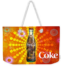 Weekender Tote Bag featuring the photograph Drink Ice Cold Coke 4 by James Sage
