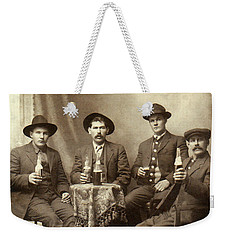 Drinking Buddies Weekender Tote Bag by Jon Neidert