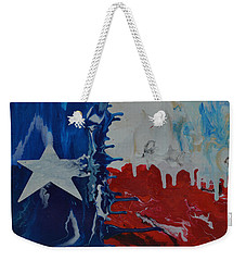 Drips Of Texas Color Weekender Tote Bag