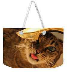 Drips On The Tongue Weekender Tote Bag by Catie Canetti