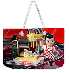 Drive-in Food Classic Weekender Tote Bag