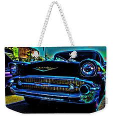 Drive In Special Weekender Tote Bag by Lesa Fine