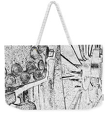 Drive Wheels Dm  Weekender Tote Bag