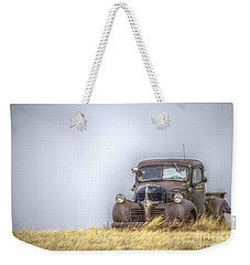 A Rusty Abandoned Truck Near Sturgis South Dakota Weekender Tote Bag