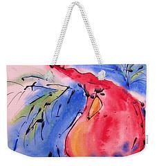 Drizzle Cardinal Weekender Tote Bag