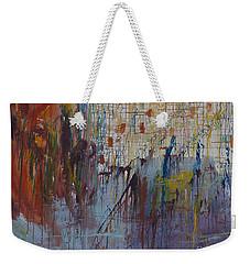 Drizzled Weekender Tote Bag by Avonelle Kelsey
