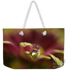 Drop On Petal Weekender Tote Bag