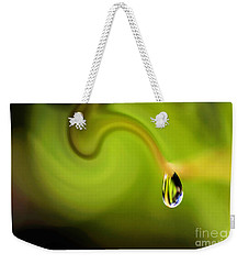 Droplet Ready To Drip Weekender Tote Bag by Kaye Menner