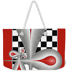Drops On A Chess Board Weekender Tote Bag by Gabiw Art