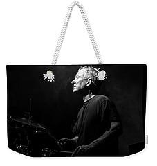 Drummer Portrait Of A Muscian Weekender Tote Bag