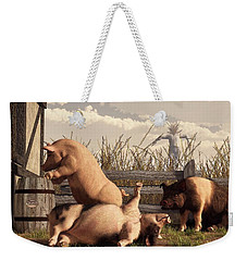 Drunken Pigs Weekender Tote Bag