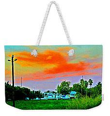 Dry Dock At Sunset Weekender Tote Bag