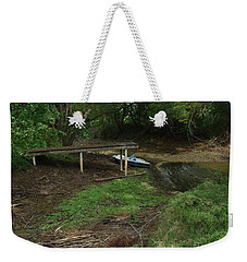 Weekender Tote Bag featuring the photograph Dry Docked by Peter Piatt