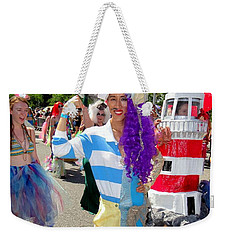 Weekender Tote Bag featuring the photograph Duality by Ed Weidman