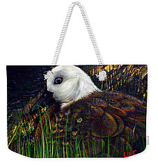 Duck At Dusk Weekender Tote Bag