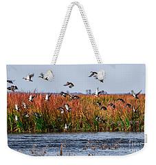 Duck Blind Weekender Tote Bag