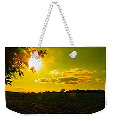 Duck Flying Low Cloud 2 Weekender Tote Bag