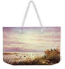 Duck Hunting Companions Weekender Tote Bag