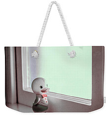 Duckie At The Window Weekender Tote Bag