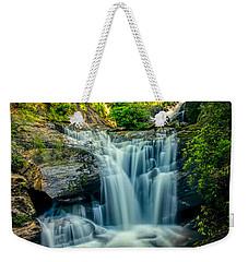 Dukes Creek Falls Weekender Tote Bag by John Haldane