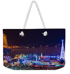 Duluth Christmas Lights Weekender Tote Bag
