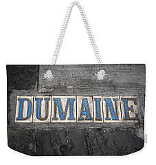 Dumaine Weekender Tote Bag