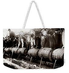 Dump The Beer Weekender Tote Bag