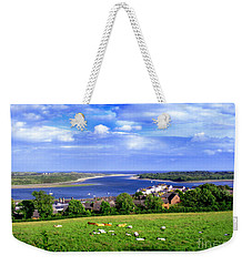 Dundrum Bay Irish Coastal Scene Weekender Tote Bag by Nina Ficur Feenan