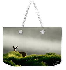 Dunes Deer P Weekender Tote Bag