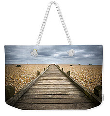 Dungeness Beach Walkway Weekender Tote Bag