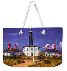 Weekender Tote Bag featuring the photograph Dungeness Old Lighthouse by Chris Lord