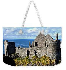 Dunluce Castle Weekender Tote Bag by Nina Ficur Feenan