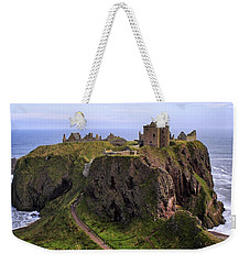 Dunnottar Castle Panorama Weekender Tote Bag
