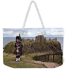 Dunnottar Piper Weekender Tote Bag by Eunice Gibb