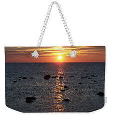 Dusk At Kettle Point Weekender Tote Bag