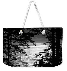 Dusk On The Ocean Weekender Tote Bag by Katie Wing Vigil