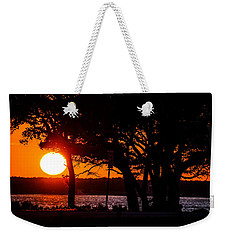 Dusky Cape Fear River  Weekender Tote Bag
