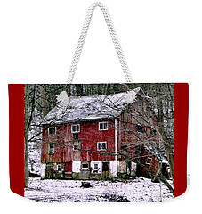 Pennsylvania Dusting Weekender Tote Bag by Michael Hoard