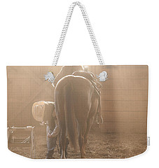 Dusty Morning Pedicure Weekender Tote Bag