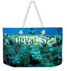 Duval Street Weekender Tote Bag