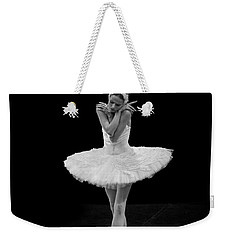 Dying Swan 5. Weekender Tote Bag by Clare Bambers