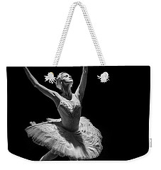 Dying Swan 6. Weekender Tote Bag by Clare Bambers