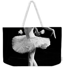 Dying Swan I. Weekender Tote Bag by Clare Bambers