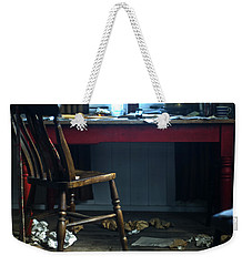 Dylan Thomas Writing Shed Weekender Tote Bag