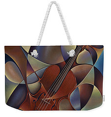 Dynamic Violin Weekender Tote Bag