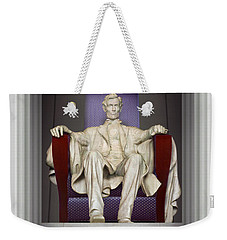 Ea-z-chair Lincoln Memorial 2 Weekender Tote Bag