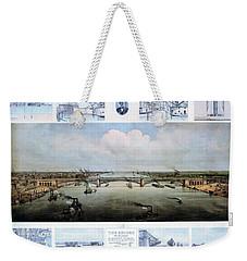 Eads Bridge Drawings Weekender Tote Bag