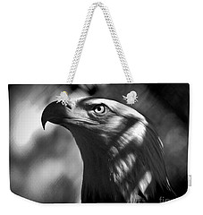 Eagle In Shadows Weekender Tote Bag
