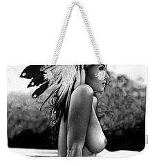 Eagle Weekender Tote Bag by Pete Tapang